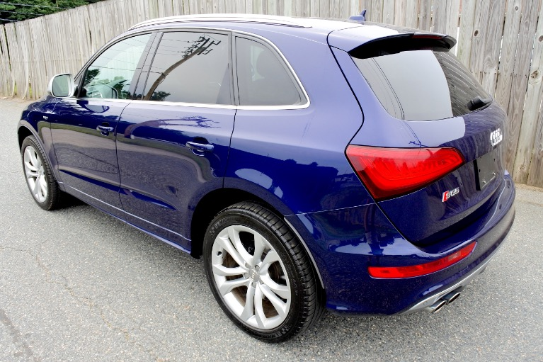 Used 2014 Audi Sq5 3.0 Quattro Used 2014 Audi Sq5 3.0 Quattro for sale  at Metro West Motorcars LLC in Shrewsbury MA 3