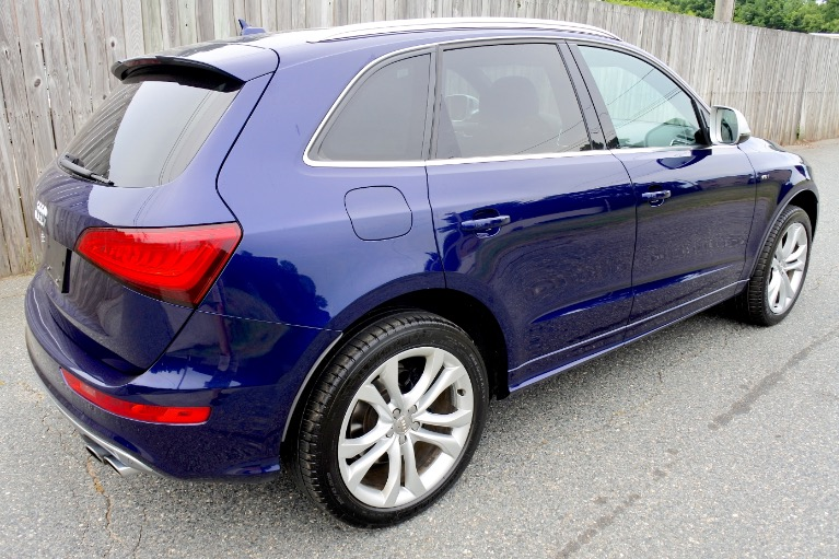 Used 2014 Audi Sq5 3.0 Quattro Used 2014 Audi Sq5 3.0 Quattro for sale  at Metro West Motorcars LLC in Shrewsbury MA 5
