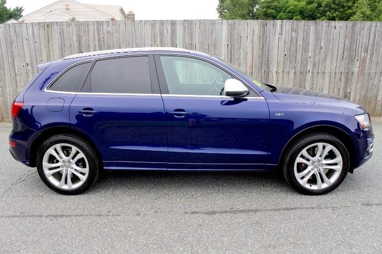 Used 2014 Audi Sq5 3.0 Quattro Used 2014 Audi Sq5 3.0 Quattro for sale  at Metro West Motorcars LLC in Shrewsbury MA 6