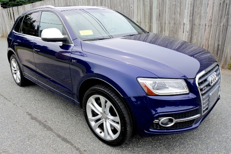 Used 2014 Audi Sq5 3.0 Quattro Used 2014 Audi Sq5 3.0 Quattro for sale  at Metro West Motorcars LLC in Shrewsbury MA 7