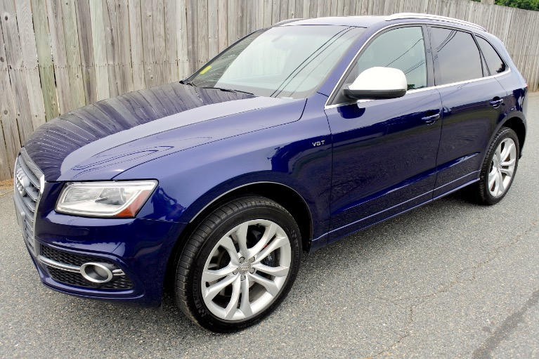 Used 2014 Audi Sq5 3.0 Quattro Used 2014 Audi Sq5 3.0 Quattro for sale  at Metro West Motorcars LLC in Shrewsbury MA 1
