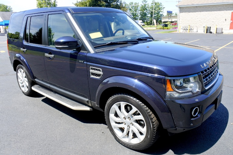 Used 2016 Land Rover Lr4 HSE Silver Edition Used 2016 Land Rover Lr4 HSE Silver Edition for sale  at Metro West Motorcars LLC in Shrewsbury MA 7