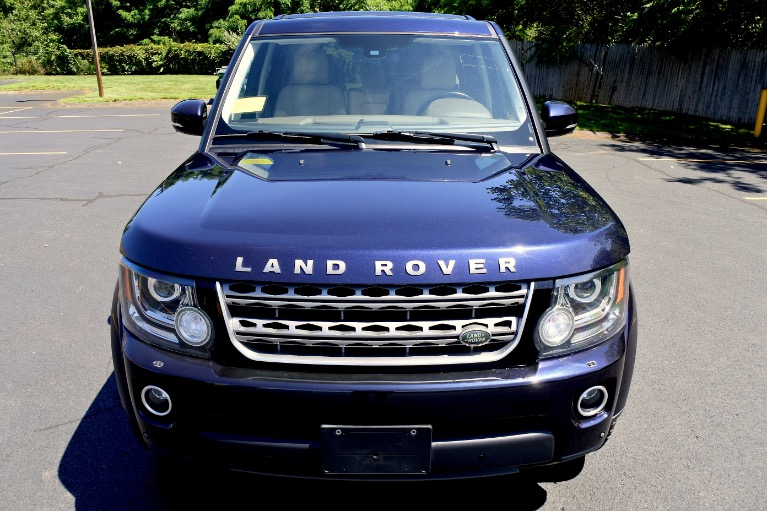 Used 2016 Land Rover Lr4 HSE Silver Edition Used 2016 Land Rover Lr4 HSE Silver Edition for sale  at Metro West Motorcars LLC in Shrewsbury MA 8