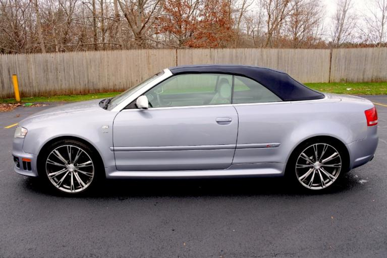 Used 2008 Audi RS 4 2dr Cabriolet Used 2008 Audi RS 4 2dr Cabriolet for sale  at Metro West Motorcars LLC in Shrewsbury MA 10