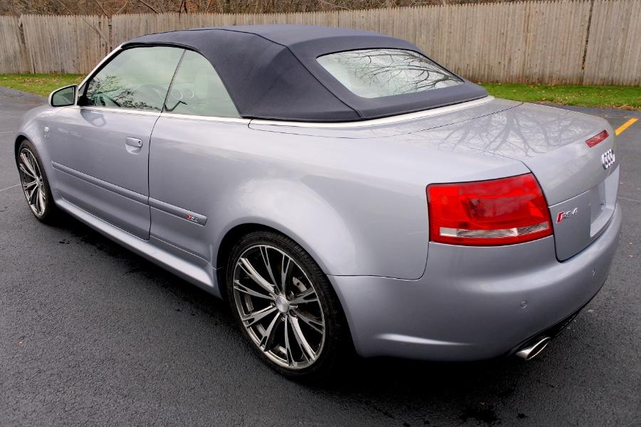 Used 2008 Audi RS 4 2dr Cabriolet Used 2008 Audi RS 4 2dr Cabriolet for sale  at Metro West Motorcars LLC in Shrewsbury MA 11