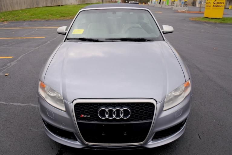 Used 2008 Audi RS 4 2dr Cabriolet Used 2008 Audi RS 4 2dr Cabriolet for sale  at Metro West Motorcars LLC in Shrewsbury MA 16
