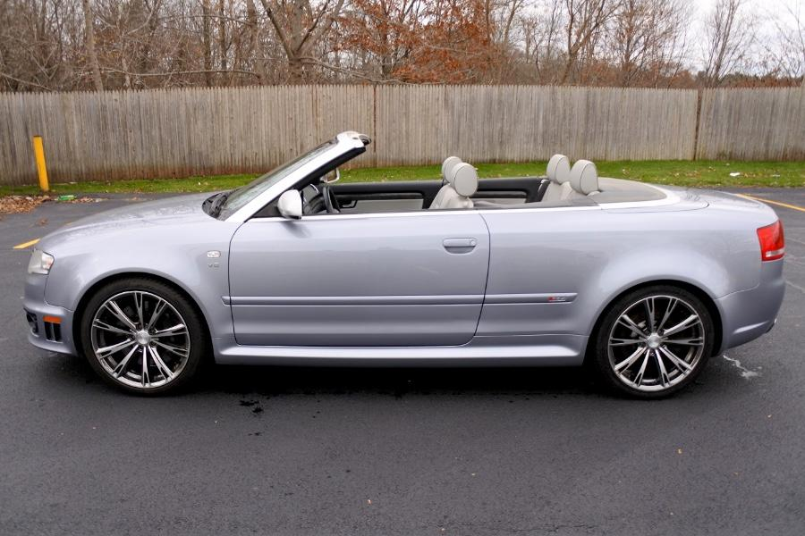 Used 2008 Audi RS 4 2dr Cabriolet Used 2008 Audi RS 4 2dr Cabriolet for sale  at Metro West Motorcars LLC in Shrewsbury MA 2