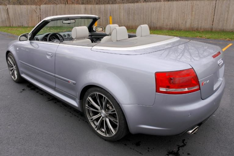 Used 2008 Audi RS 4 2dr Cabriolet Used 2008 Audi RS 4 2dr Cabriolet for sale  at Metro West Motorcars LLC in Shrewsbury MA 3