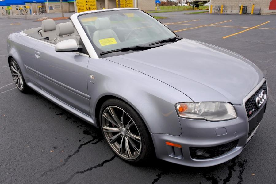 Used 2008 Audi RS 4 2dr Cabriolet Used 2008 Audi RS 4 2dr Cabriolet for sale  at Metro West Motorcars LLC in Shrewsbury MA 7