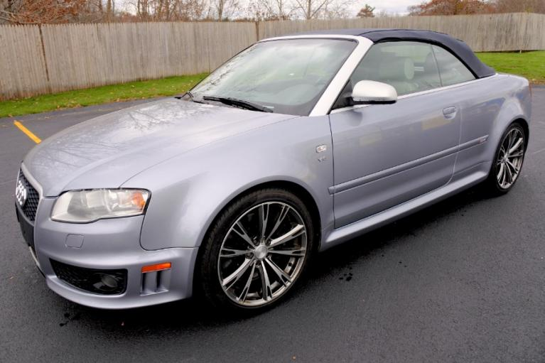 Used 2008 Audi RS 4 2dr Cabriolet Used 2008 Audi RS 4 2dr Cabriolet for sale  at Metro West Motorcars LLC in Shrewsbury MA 9