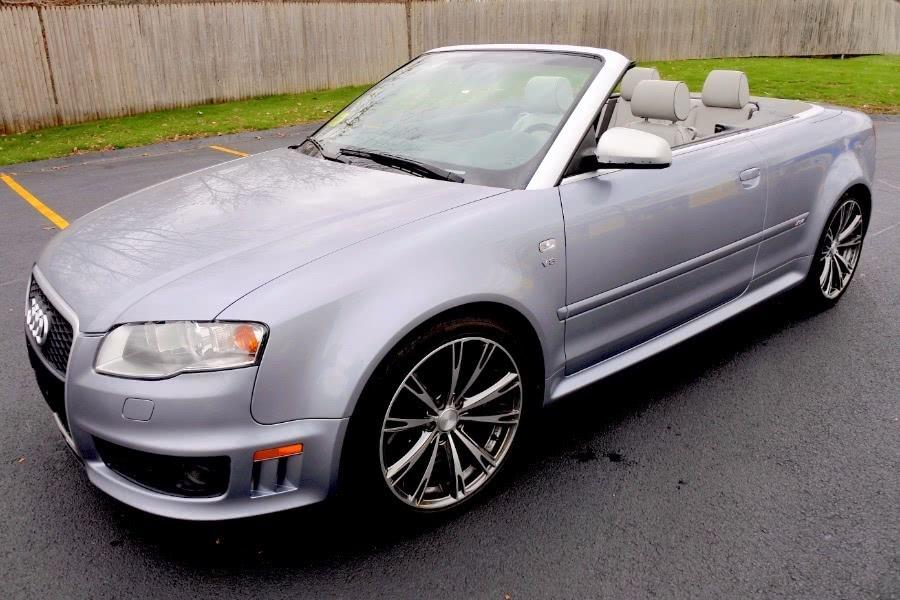 Used 2008 Audi RS 4 2dr Cabriolet Used 2008 Audi RS 4 2dr Cabriolet for sale  at Metro West Motorcars LLC in Shrewsbury MA 1