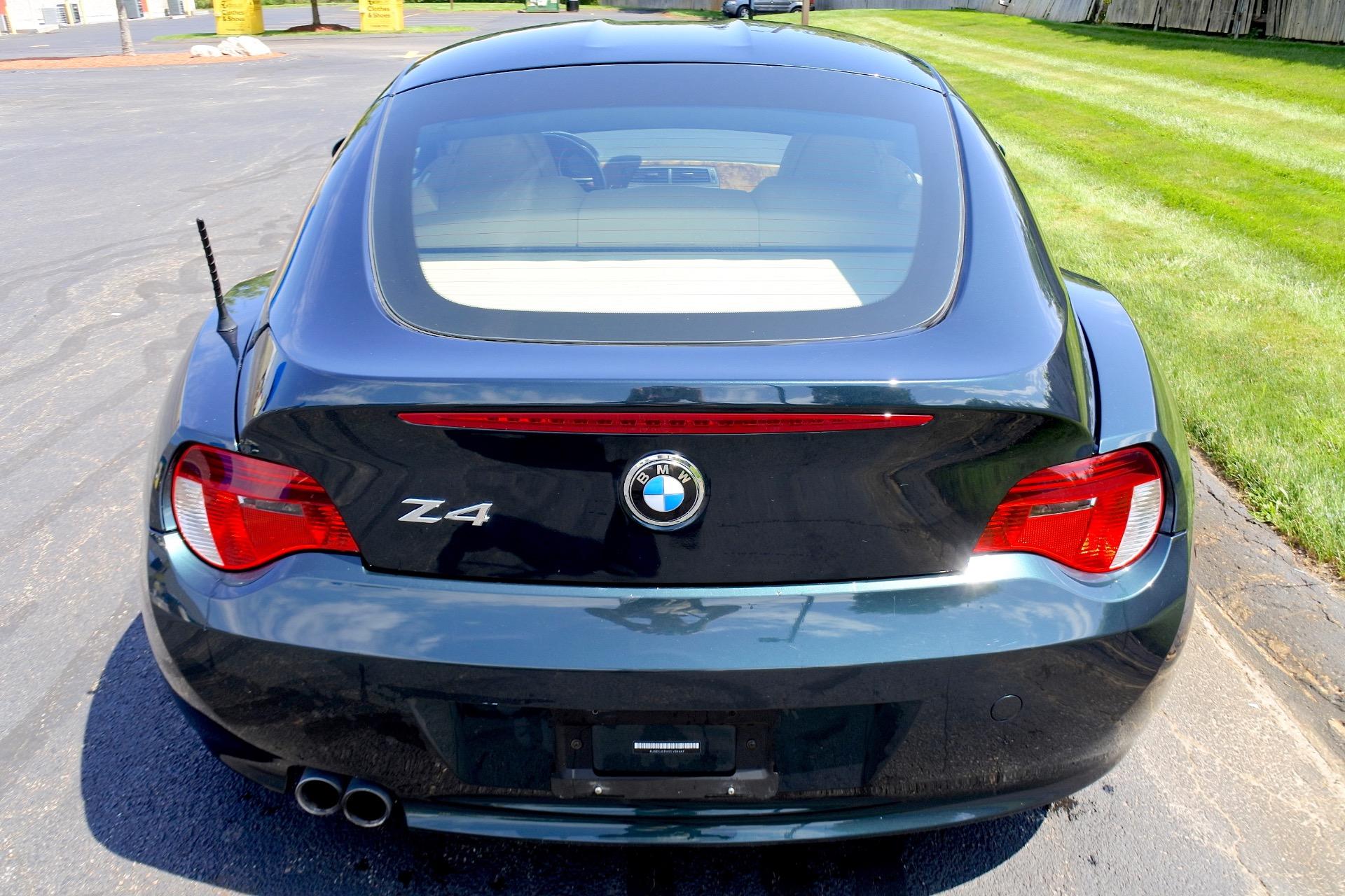 Used 2007 BMW Z4 2dr Coupe 3.0si Used 2007 BMW Z4 2dr Coupe 3.0si for sale  at Metro West Motorcars LLC in Shrewsbury MA 4