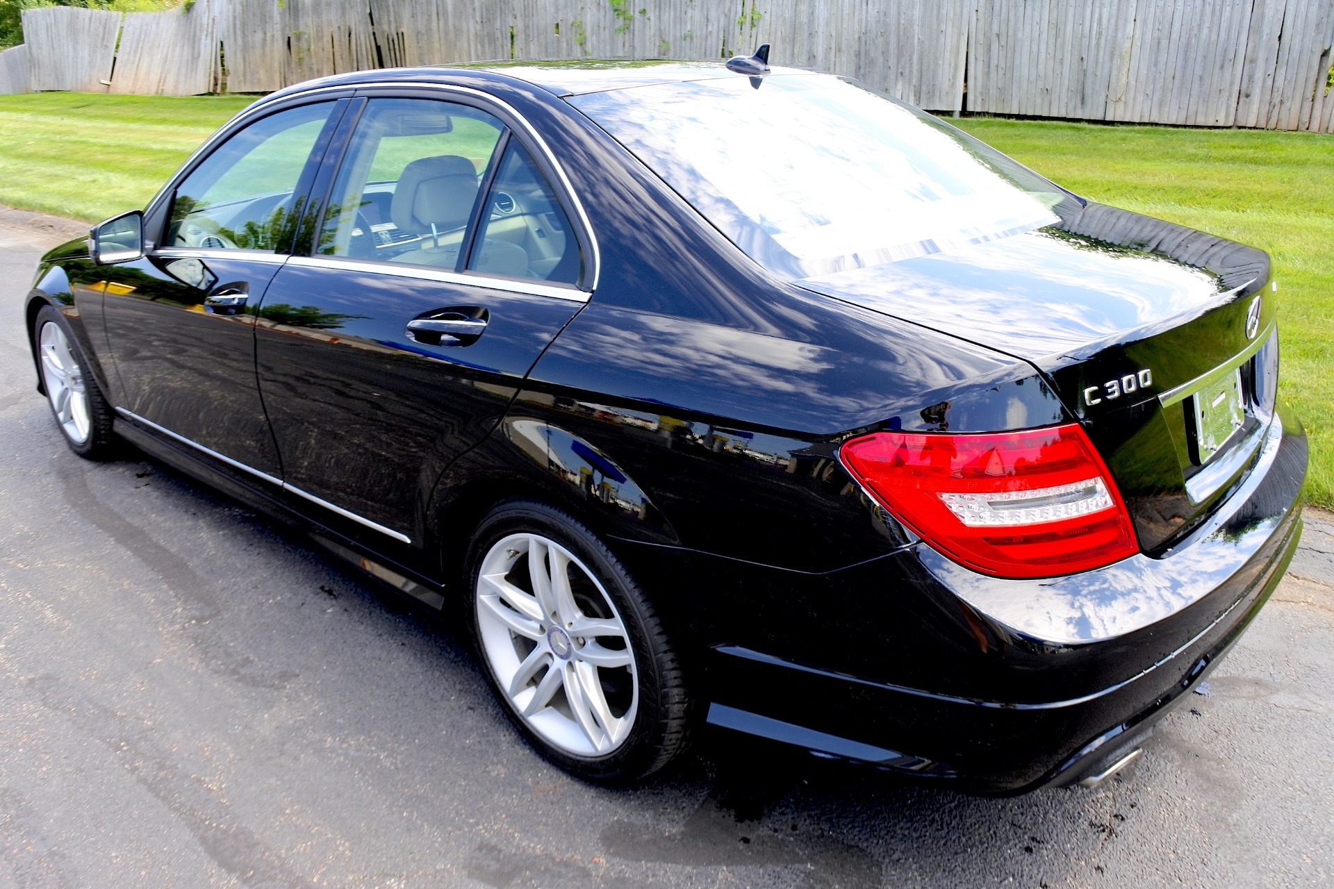 Used 2012 Mercedes-Benz C-class 4dr Sdn C300 Sport 4MATIC Used 2012 Mercedes-Benz C-class 4dr Sdn C300 Sport 4MATIC for sale  at Metro West Motorcars LLC in Shrewsbury MA 3