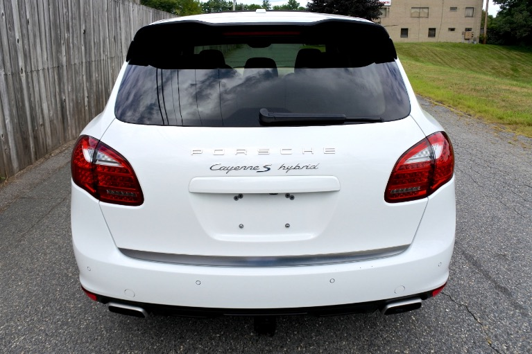 Used 2012 Porsche Cayenne AWD 4dr S Hybrid Used 2012 Porsche Cayenne AWD 4dr S Hybrid for sale  at Metro West Motorcars LLC in Shrewsbury MA 4