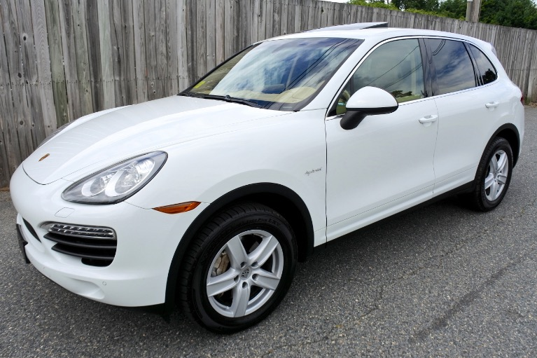 Used Used 2012 Porsche Cayenne AWD 4dr S Hybrid for sale $21,800 at Metro West Motorcars LLC in Shrewsbury MA
