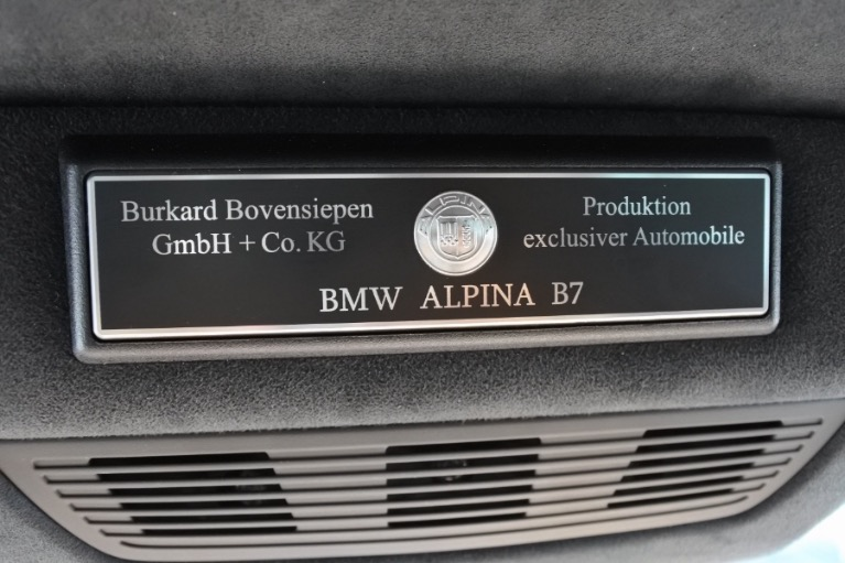 Used 2013 BMW Alpina B7 LWB xDrive AWD Used 2013 BMW Alpina B7 LWB xDrive AWD for sale  at Metro West Motorcars LLC in Shrewsbury MA 25