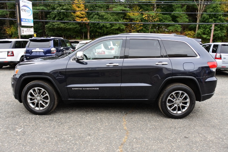 Used 2014 Jeep Grand Cherokee 4WD 4dr Limited Used 2014 Jeep Grand Cherokee 4WD 4dr Limited for sale  at Metro West Motorcars LLC in Shrewsbury MA 3