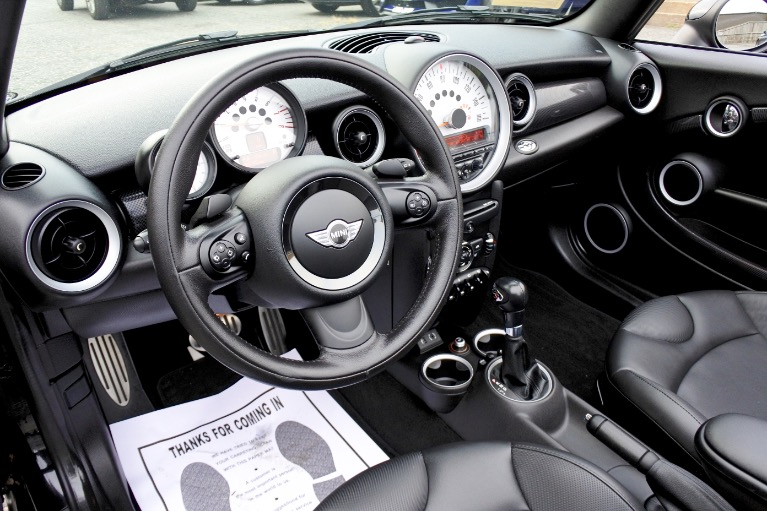 Used 2014 Mini Cooper s Convertible S Used 2014 Mini Cooper s Convertible S for sale  at Metro West Motorcars LLC in Shrewsbury MA 13