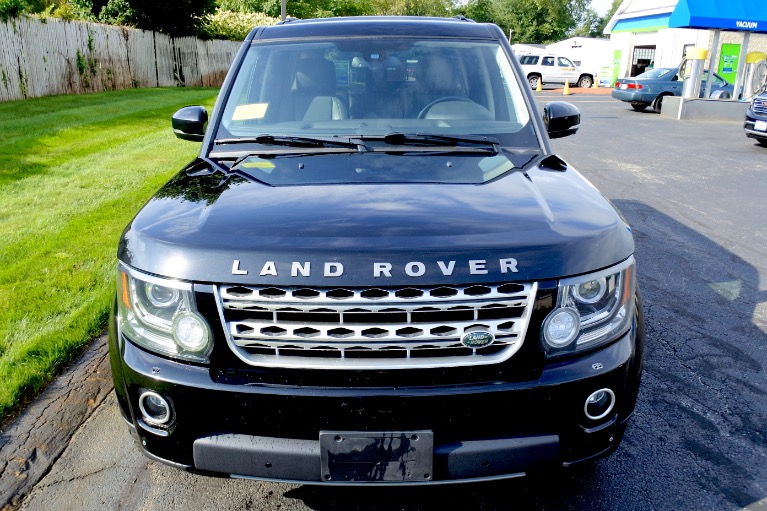 Used 2015 Land Rover Lr4 4WD 4dr LUX Used 2015 Land Rover Lr4 4WD 4dr LUX for sale  at Metro West Motorcars LLC in Shrewsbury MA 8