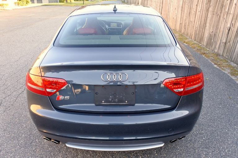 Used 2011 Audi S5 2dr Cpe Auto Premium Plus Used 2011 Audi S5 2dr Cpe Auto Premium Plus for sale  at Metro West Motorcars LLC in Shrewsbury MA 4