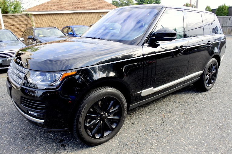Used Used 2016 Land Rover Range Rover 4WD 4dr HSE for sale $49,900 at Metro West Motorcars LLC in Shrewsbury MA