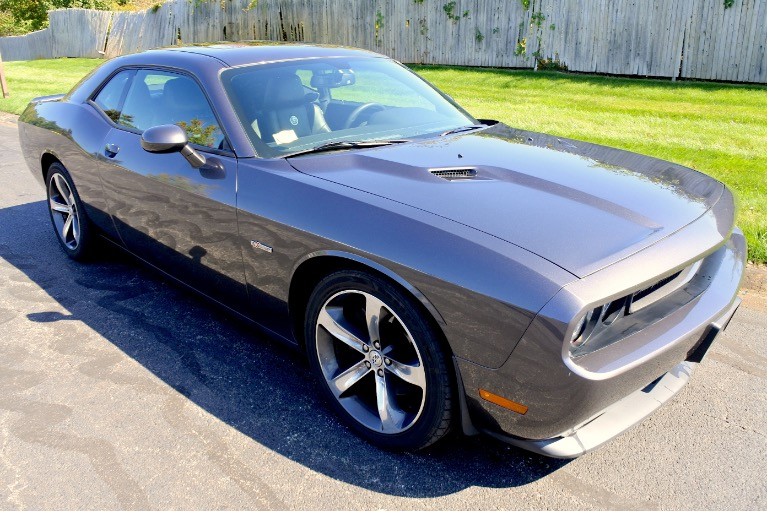 Used 2014 Dodge Challenger 2dr Cpe R/T Plus Used 2014 Dodge Challenger 2dr Cpe R/T Plus for sale  at Metro West Motorcars LLC in Shrewsbury MA 7
