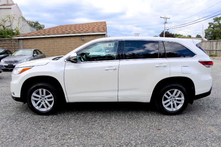 Used 2014 Toyota Highlander AWD 4dr V6 LE Used 2014 Toyota Highlander AWD 4dr V6 LE for sale  at Metro West Motorcars LLC in Shrewsbury MA 2