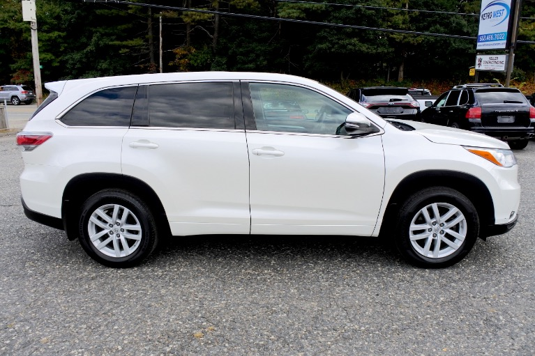 Used 2014 Toyota Highlander AWD 4dr V6 LE Used 2014 Toyota Highlander AWD 4dr V6 LE for sale  at Metro West Motorcars LLC in Shrewsbury MA 6