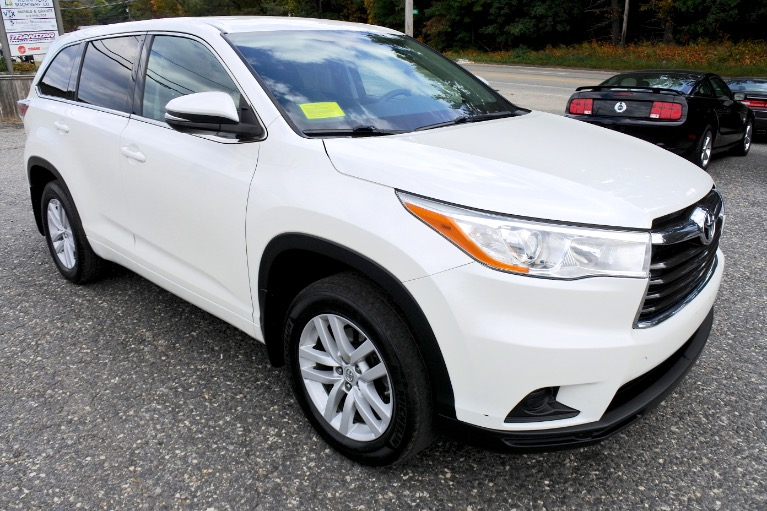Used 2014 Toyota Highlander AWD 4dr V6 LE Used 2014 Toyota Highlander AWD 4dr V6 LE for sale  at Metro West Motorcars LLC in Shrewsbury MA 7