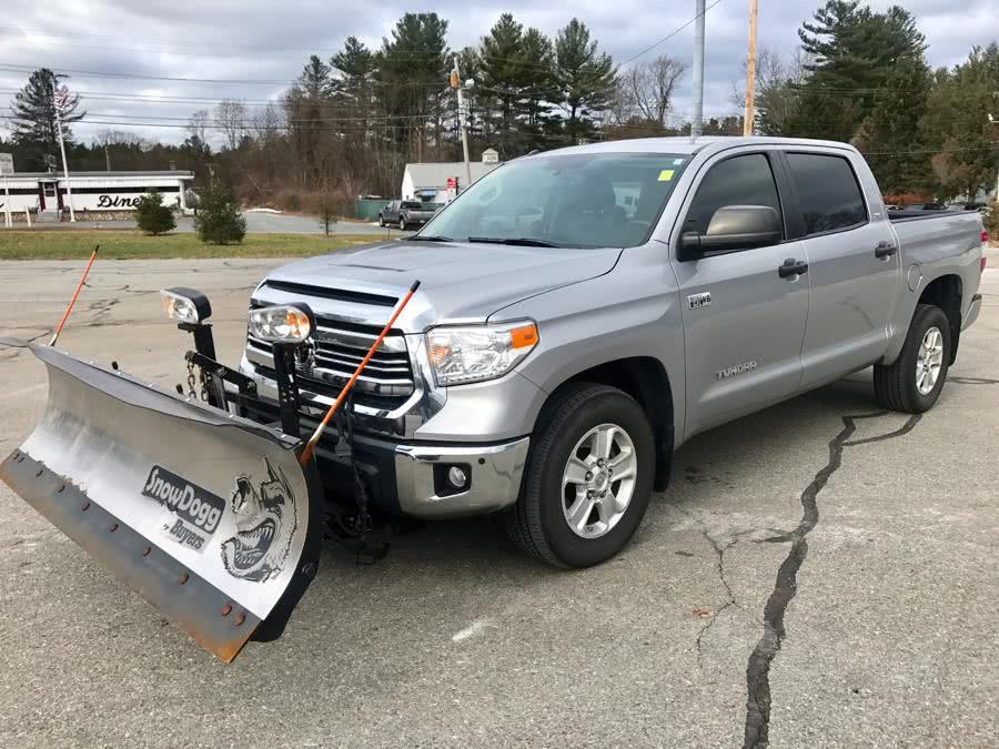 Used 2016 Toyota Tundra 4WD Truck CrewMax 5.7L V8 6-Spd AT SR5 (Natl) Used 2016 Toyota Tundra 4WD Truck CrewMax 5.7L V8 6-Spd AT SR5 (Natl) for sale  at Metro West Motorcars LLC in Shrewsbury MA 1