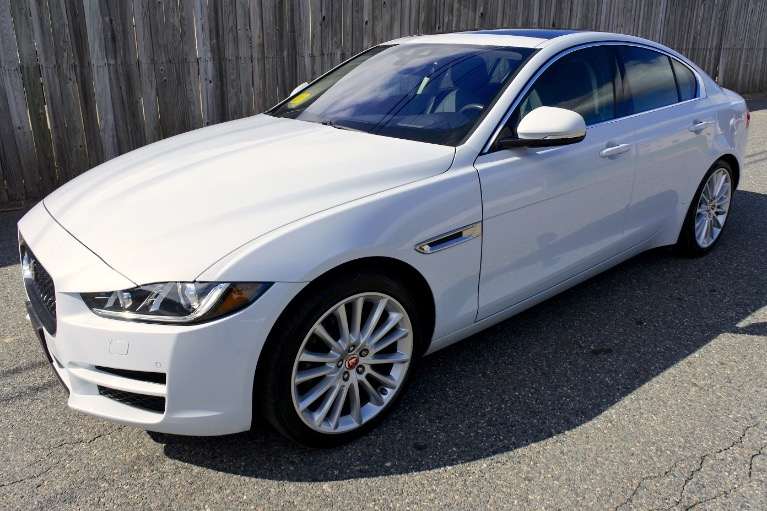 Used 2017 Jaguar Xe 35t First Edition AWD Used 2017 Jaguar Xe 35t First Edition AWD for sale  at Metro West Motorcars LLC in Shrewsbury MA 1