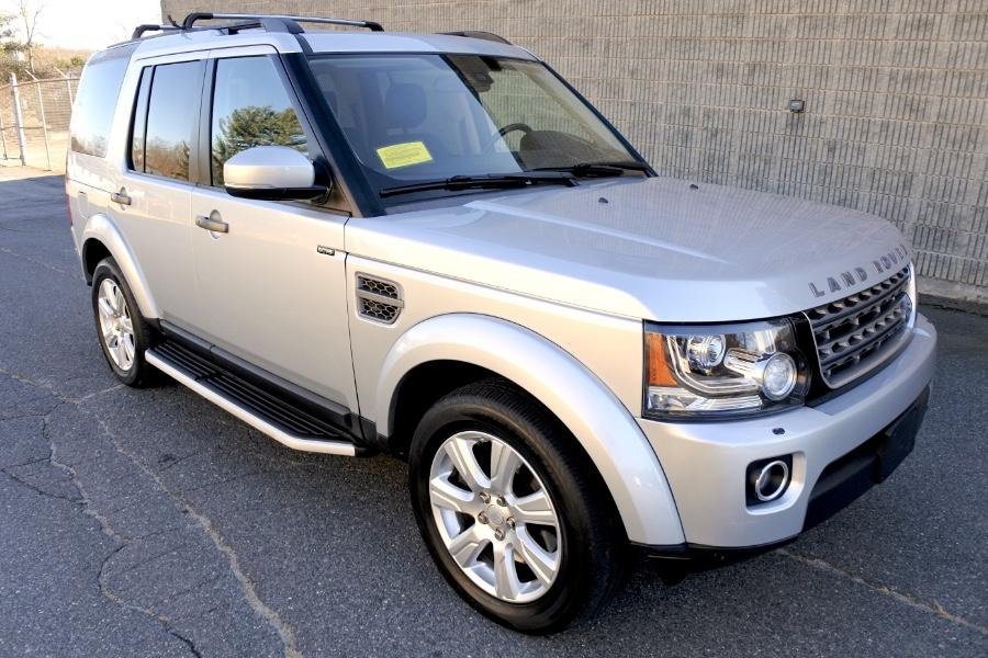 Used 2015 Land Rover LR4 4WD 4dr HSE Used 2015 Land Rover LR4 4WD 4dr HSE for sale  at Metro West Motorcars LLC in Shrewsbury MA 7