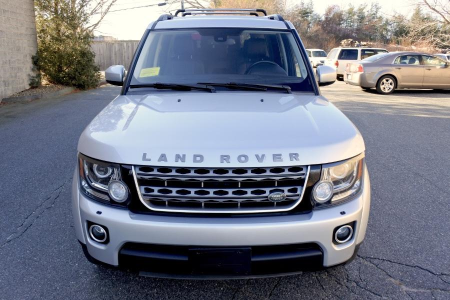 Used 2015 Land Rover LR4 4WD 4dr HSE Used 2015 Land Rover LR4 4WD 4dr HSE for sale  at Metro West Motorcars LLC in Shrewsbury MA 8
