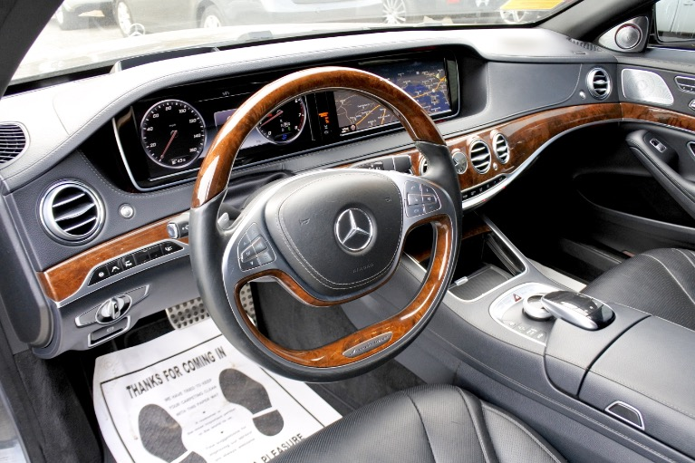 Used 2015 Mercedes-Benz S-class 4dr Sdn S550 4MATIC Used 2015 Mercedes-Benz S-class 4dr Sdn S550 4MATIC for sale  at Metro West Motorcars LLC in Shrewsbury MA 13