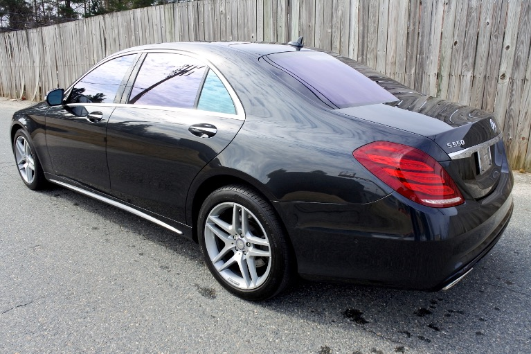 Used 2015 Mercedes-Benz S-class 4dr Sdn S550 4MATIC Used 2015 Mercedes-Benz S-class 4dr Sdn S550 4MATIC for sale  at Metro West Motorcars LLC in Shrewsbury MA 3