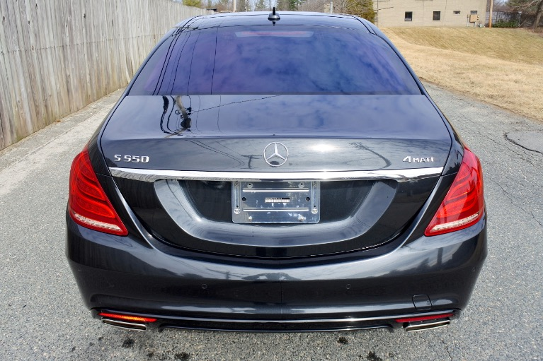 Used 2015 Mercedes-Benz S-class 4dr Sdn S550 4MATIC Used 2015 Mercedes-Benz S-class 4dr Sdn S550 4MATIC for sale  at Metro West Motorcars LLC in Shrewsbury MA 4
