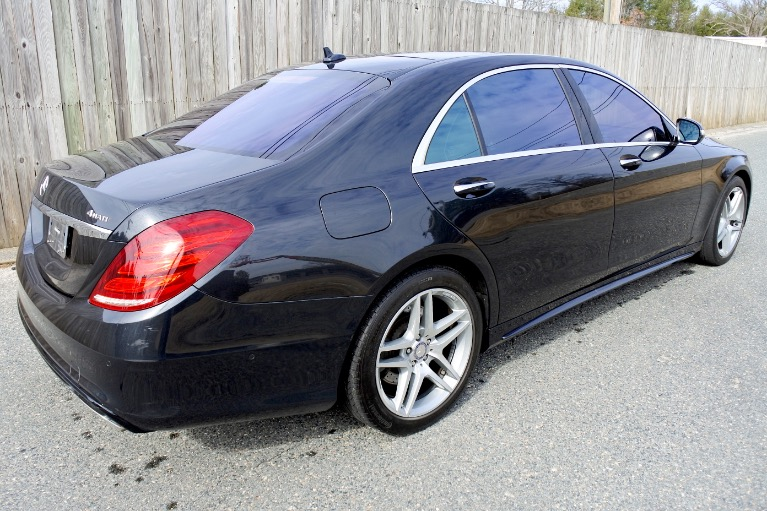 Used 2015 Mercedes-Benz S-class 4dr Sdn S550 4MATIC Used 2015 Mercedes-Benz S-class 4dr Sdn S550 4MATIC for sale  at Metro West Motorcars LLC in Shrewsbury MA 5