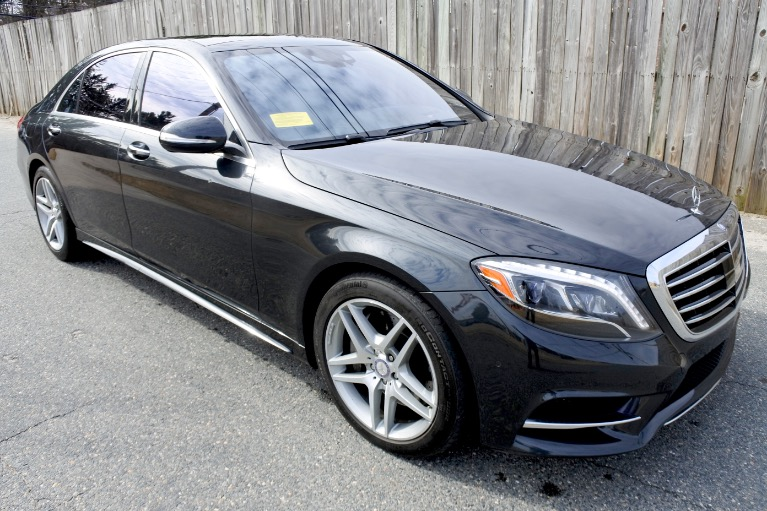Used 2015 Mercedes-Benz S-class 4dr Sdn S550 4MATIC Used 2015 Mercedes-Benz S-class 4dr Sdn S550 4MATIC for sale  at Metro West Motorcars LLC in Shrewsbury MA 7