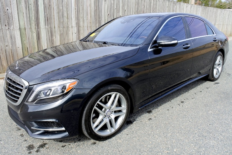 Used Used 2015 Mercedes-Benz S-class 4dr Sdn S550 4MATIC for sale $45,500 at Metro West Motorcars LLC in Shrewsbury MA