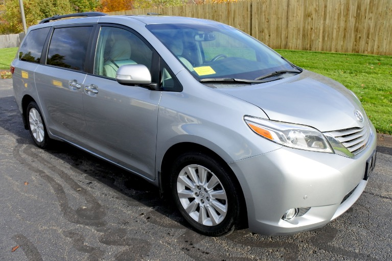 Used 2015 Toyota Sienna Limited Premium AWD Used 2015 Toyota Sienna Limited Premium AWD for sale  at Metro West Motorcars LLC in Shrewsbury MA 7