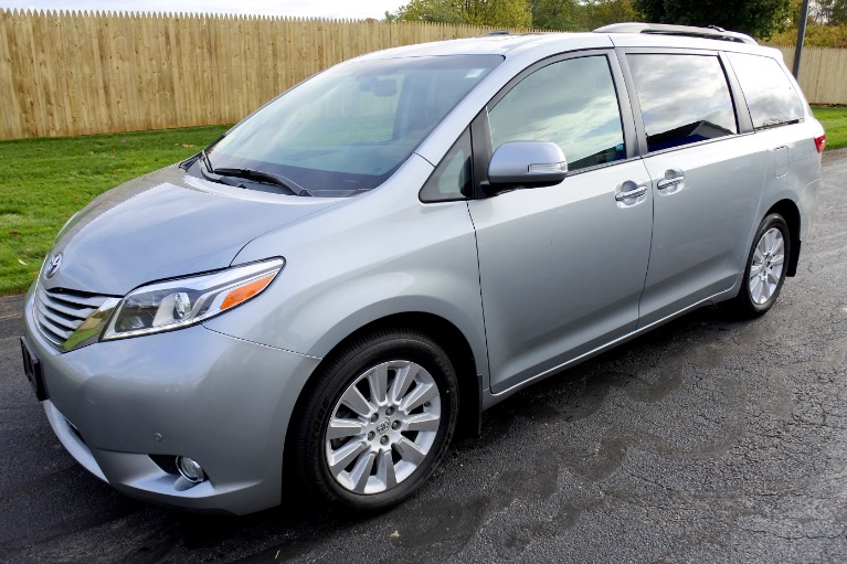 Used Used 2015 Toyota Sienna Limited Premium AWD for sale $22,700 at Metro West Motorcars LLC in Shrewsbury MA