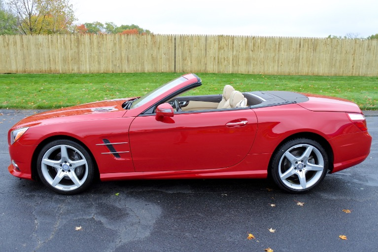 Used 2016 Mercedes-Benz Sl 2dr Roadster SL 550 Used 2016 Mercedes-Benz Sl 2dr Roadster SL 550 for sale  at Metro West Motorcars LLC in Shrewsbury MA 3