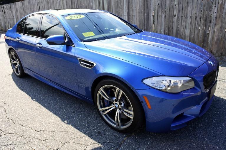 Used 2013 BMW M5 Sedan Used 2013 BMW M5 Sedan for sale  at Metro West Motorcars LLC in Shrewsbury MA 7