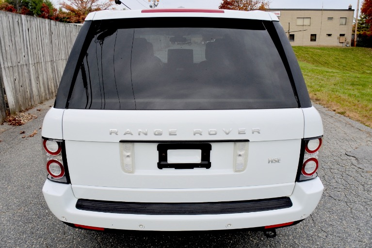 Used 2012 Land Rover Range Rover 4WD 4dr HSE Used 2012 Land Rover Range Rover 4WD 4dr HSE for sale  at Metro West Motorcars LLC in Shrewsbury MA 4
