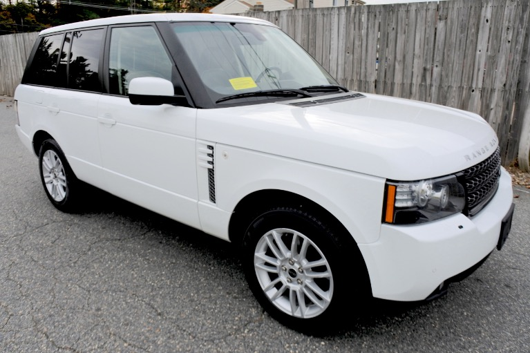 Used 2012 Land Rover Range Rover HSE Used 2012 Land Rover Range Rover HSE for sale  at Metro West Motorcars LLC in Shrewsbury MA 7