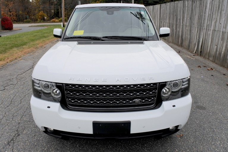 Used 2012 Land Rover Range Rover 4WD 4dr HSE Used 2012 Land Rover Range Rover 4WD 4dr HSE for sale  at Metro West Motorcars LLC in Shrewsbury MA 8
