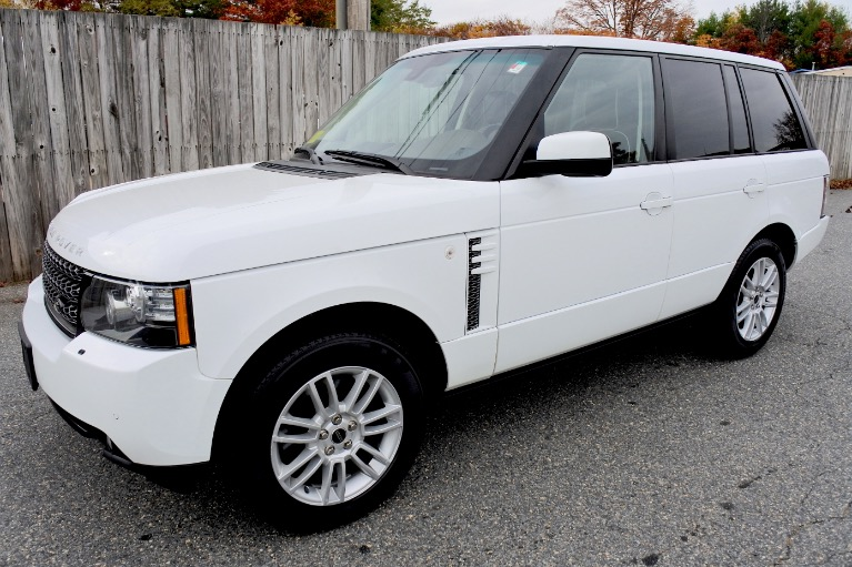 Used Used 2012 Land Rover Range Rover 4WD 4dr HSE for sale $21,700 at Metro West Motorcars LLC in Shrewsbury MA