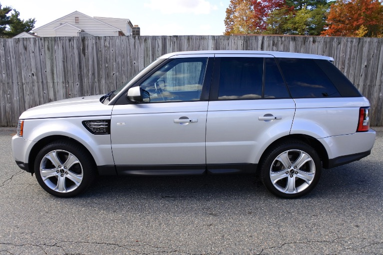 Used 2012 Land Rover Range Rover Sport HSE LUX Used 2012 Land Rover Range Rover Sport HSE LUX for sale  at Metro West Motorcars LLC in Shrewsbury MA 2
