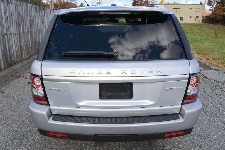 Used 2012 Land Rover Range Rover Sport HSE LUX Used 2012 Land Rover Range Rover Sport HSE LUX for sale  at Metro West Motorcars LLC in Shrewsbury MA 4