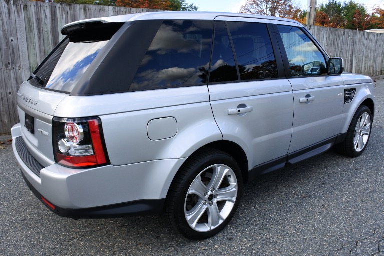 Used 2012 Land Rover Range Rover Sport HSE LUX Used 2012 Land Rover Range Rover Sport HSE LUX for sale  at Metro West Motorcars LLC in Shrewsbury MA 5